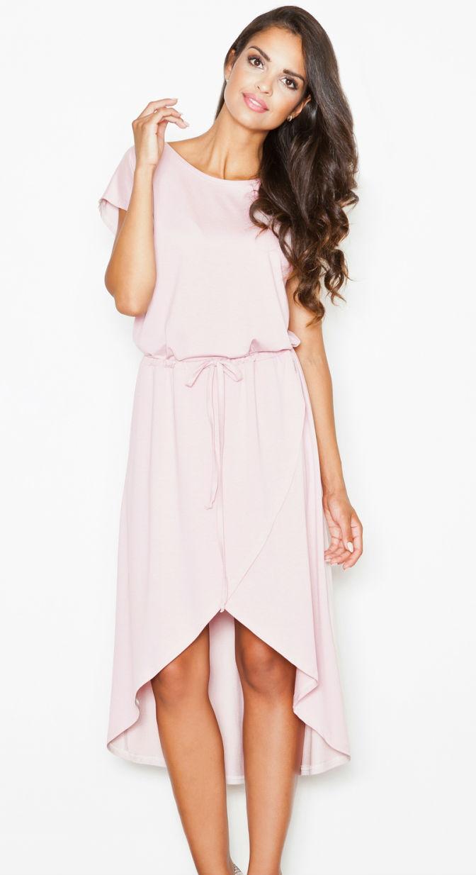 Dámské šaty FIGL M394 růžové