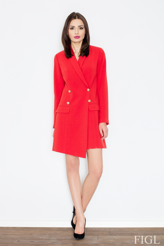 Dámské šaty FIGL M447 červené