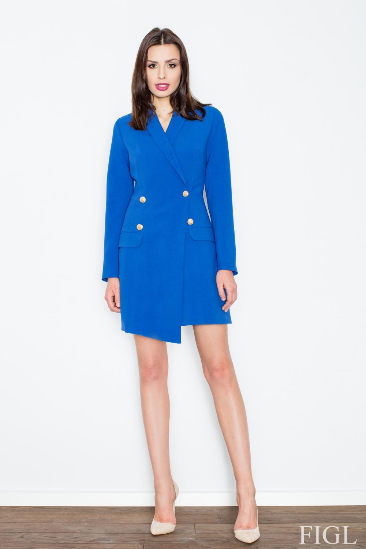 Dámské šaty FIGL M447 modré