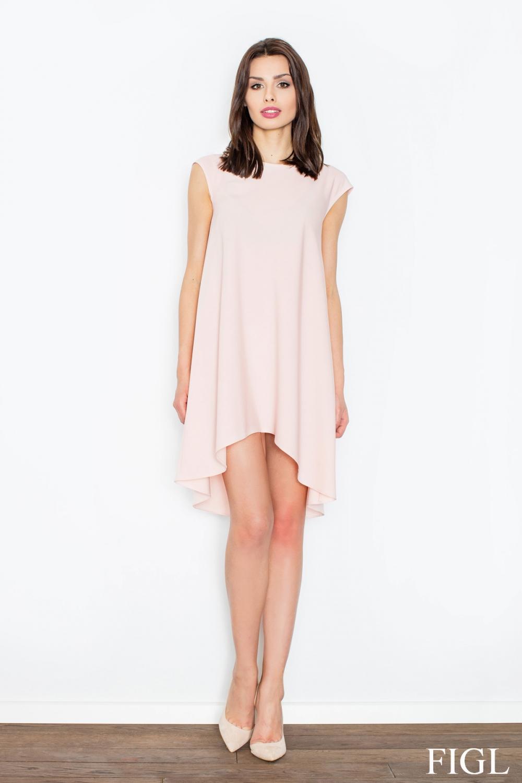 Dámské šaty FIGL M450 růžové