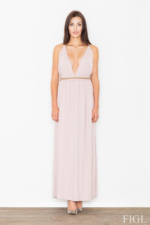 Dámské šaty FIGL M483 růžové