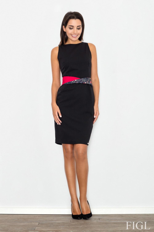 Dámské šaty FIGL M534 černé