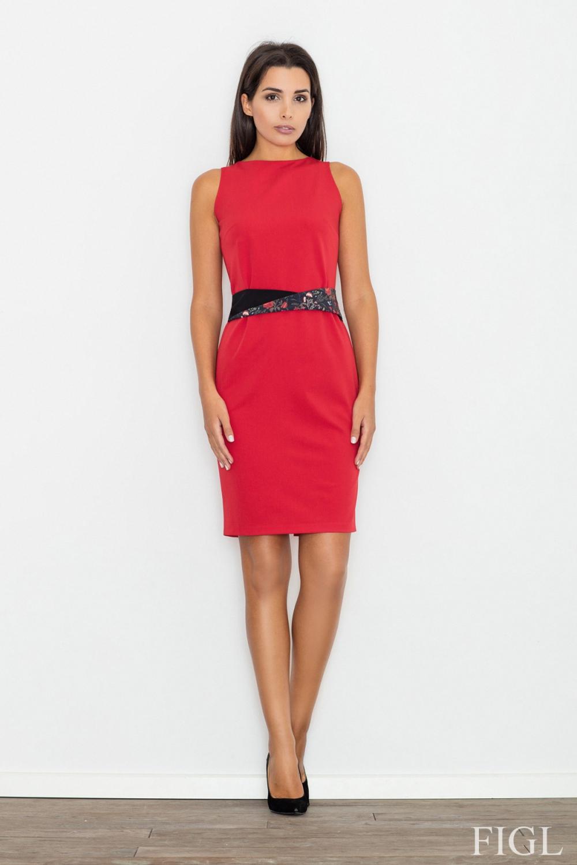 Dámské šaty FIGL M534 červené