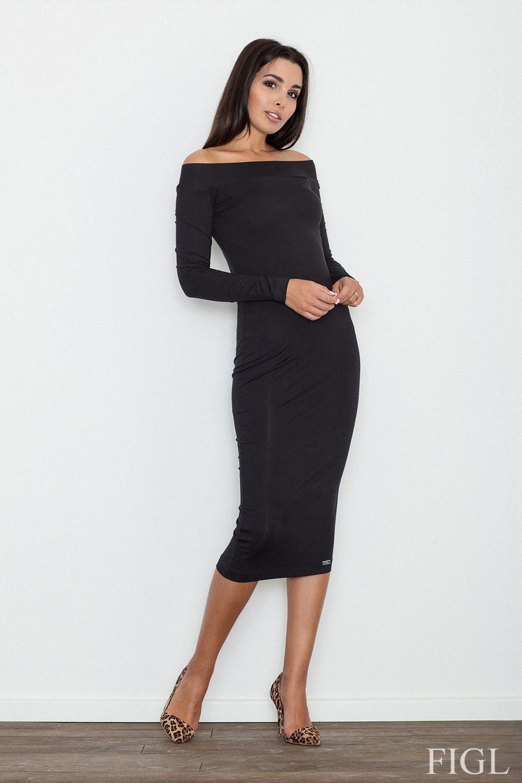 Dámské šaty Figl M558 černé