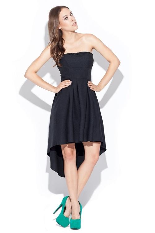 Dámské šaty Katrus K031 černé