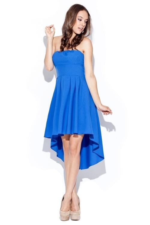 Dámské šaty Katrus K031 modré