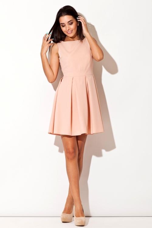 Dámské šaty Katrus K128 růžové