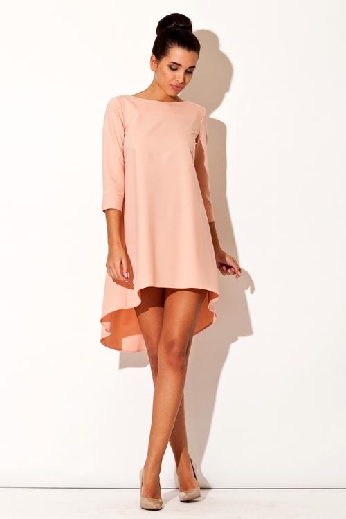 Dámské šaty Katrus K141 růžové