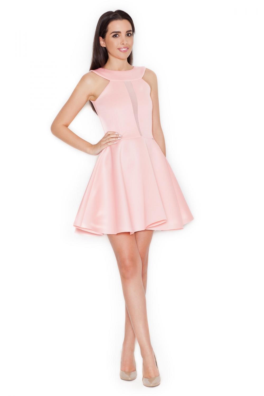 Dámské šaty Katrus K270 růžové