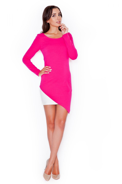 Dámské šaty Katrus K284 růžové
