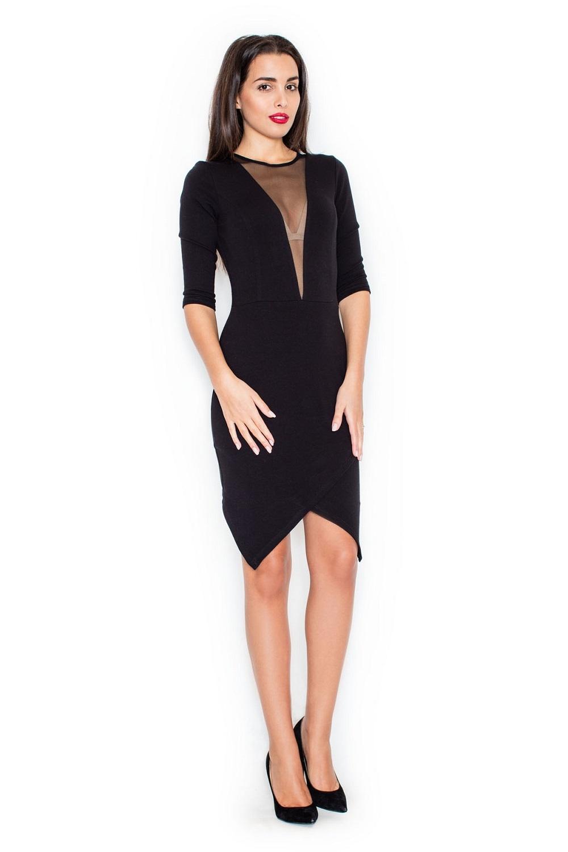 Dámské šaty Katrus K320 černé