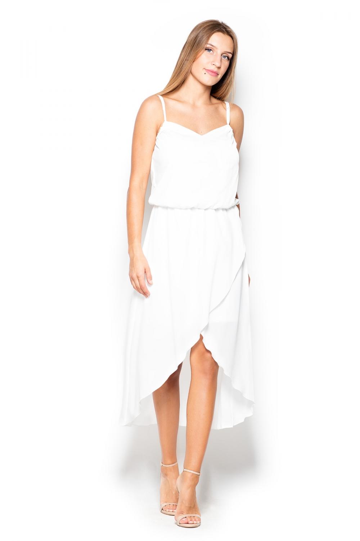Dámské šaty Katrus K395 krémové