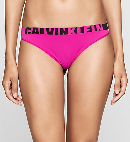 Dámské tanga Calvin Klein QF1568E