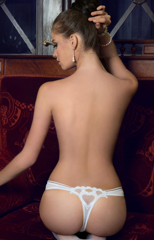 Dámské tanga ROZA Lica bílé