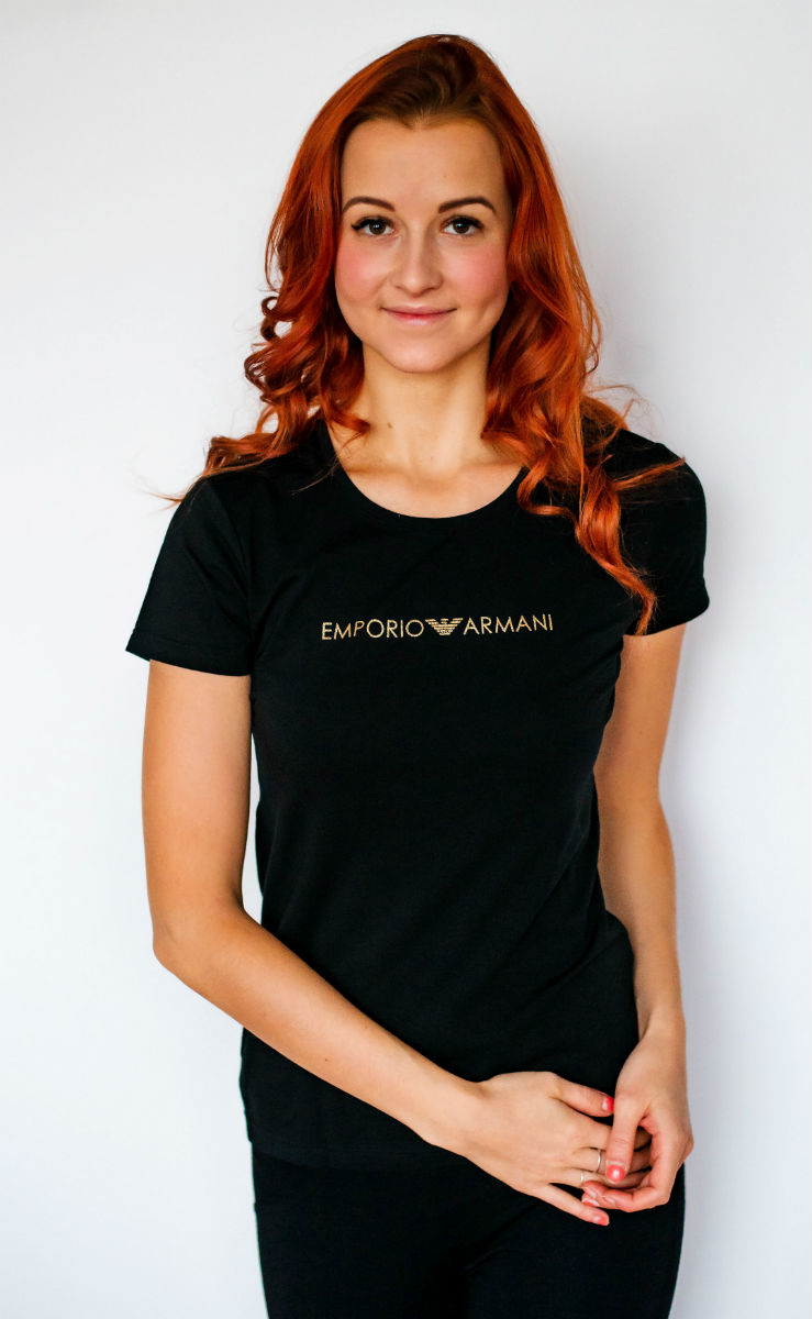 8791f5612e4a Dámské tričko Emporio Armani 163139 8A225