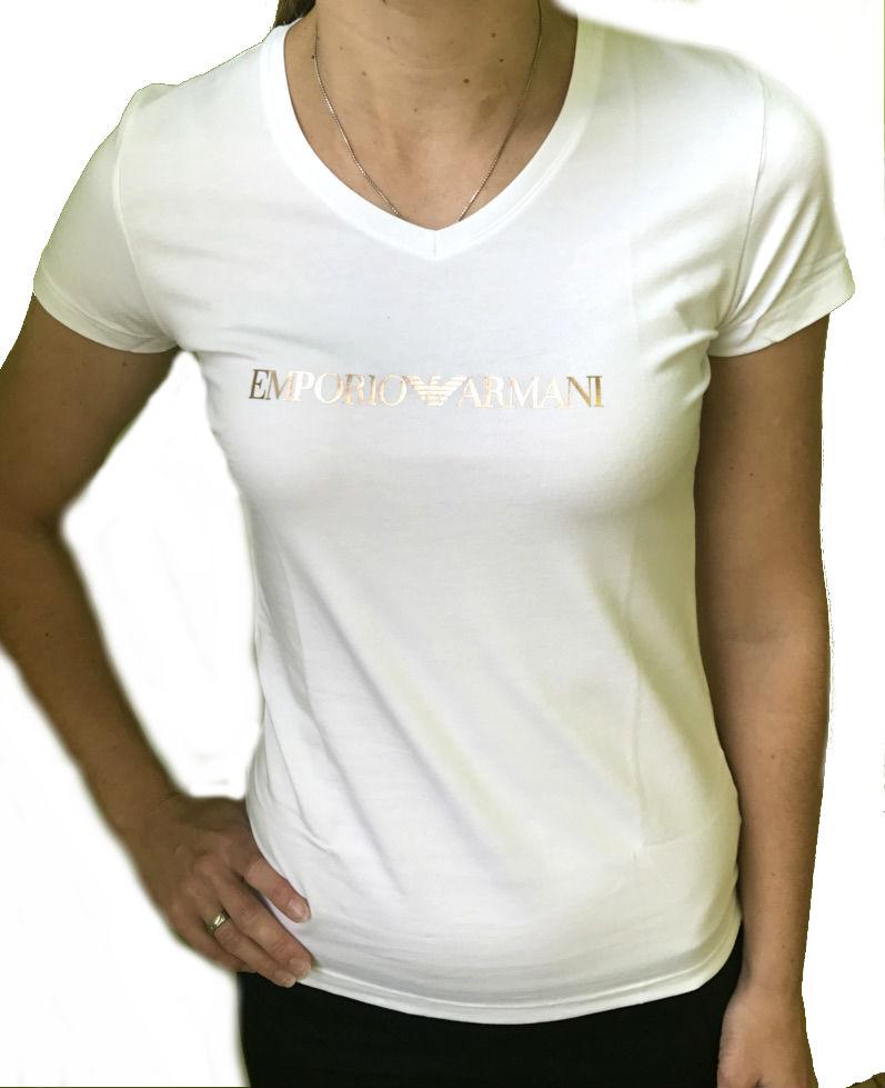 Dámské tričko Emporio Armani 163321 7A263