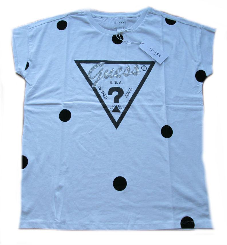 Dámské tričko Guess O81l00 bílé