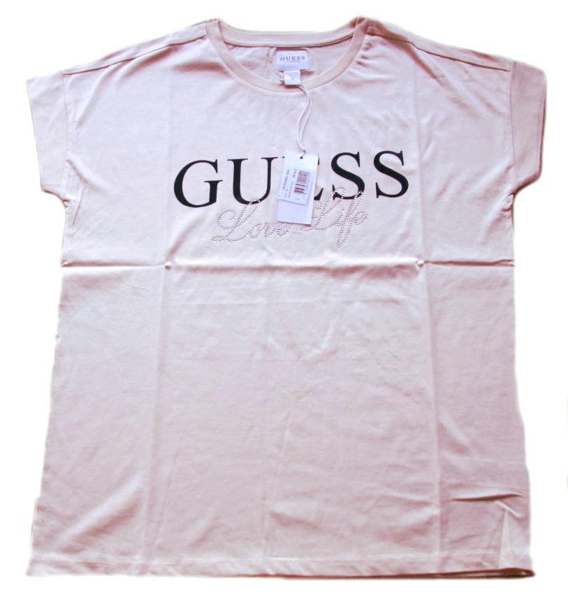 Dámské tričko Guess O81l00 růžové