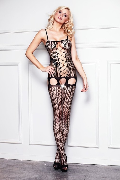 Dámský bodystocking 7 Heaven B104