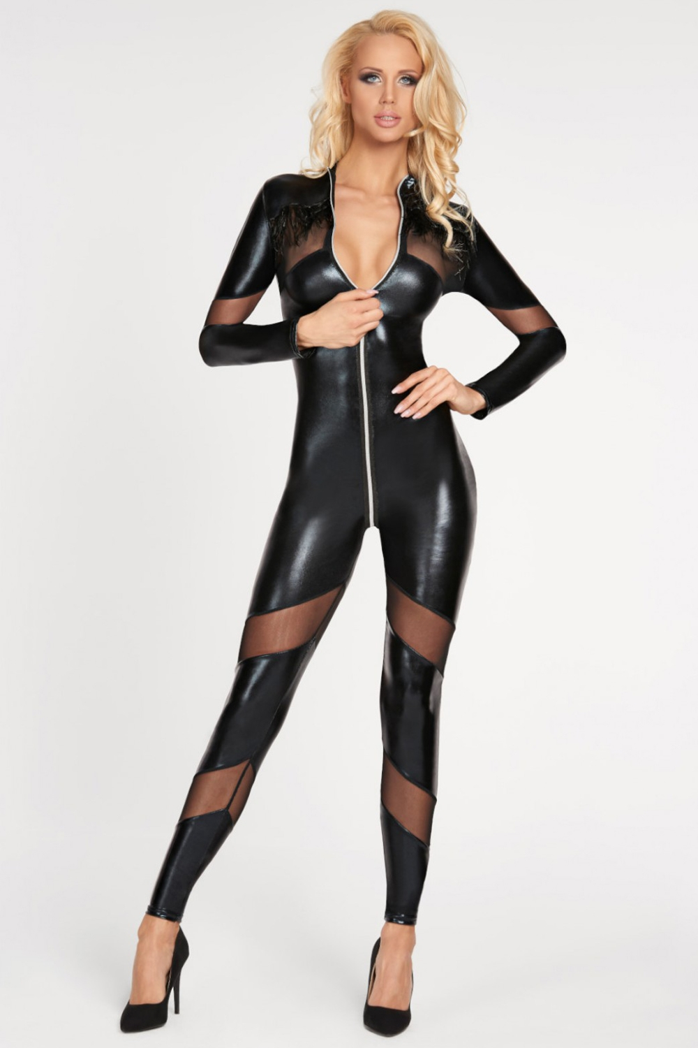 Dámský bodystocking 7 Heaven Chancay