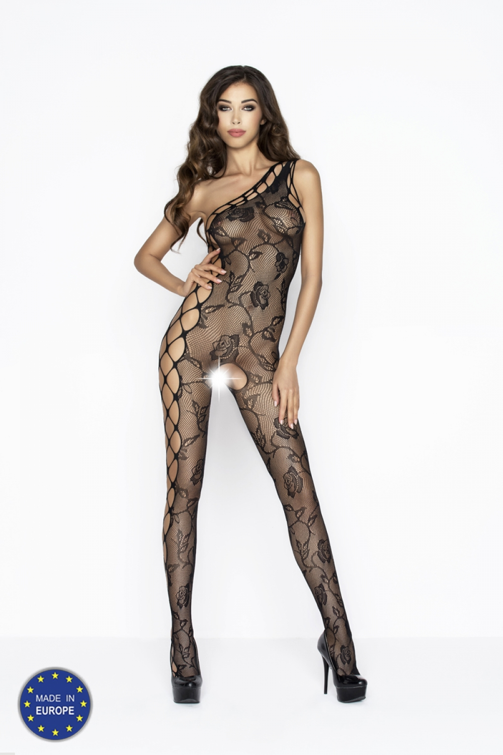 3dab1aa102 Damsky bodystocking passion bs043 cerny