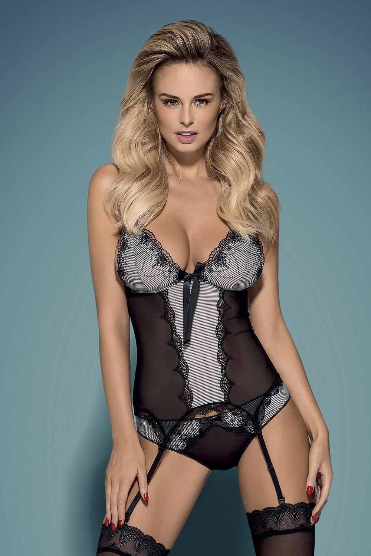 Dámský erotický korzet Obsessive Greyla corset