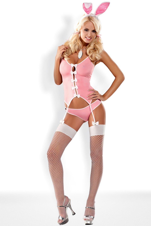 Dámský erotický obleček Obsessive Bunny suit