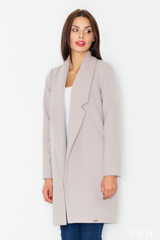 Dámský kabát FIGL M531 béžový