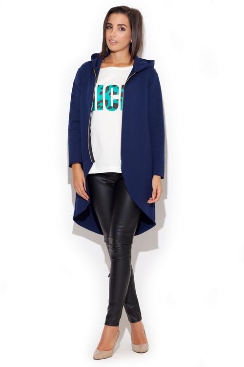 Dámský kabátek Katrus K215 granátový