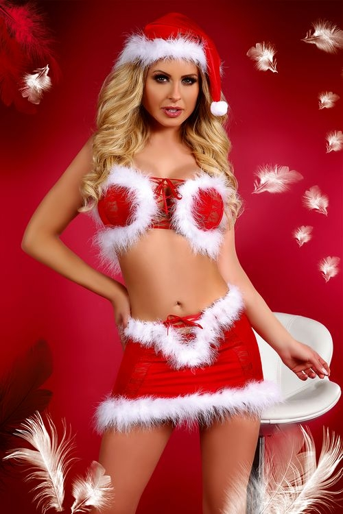 Dámský Vánoční kostým Livia Corsetti Christmas Lust