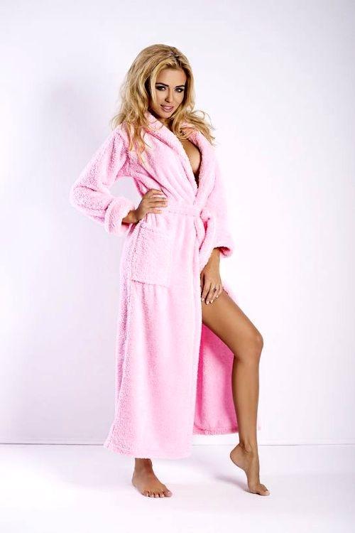 Dámský župan DKaren Eliza long pink