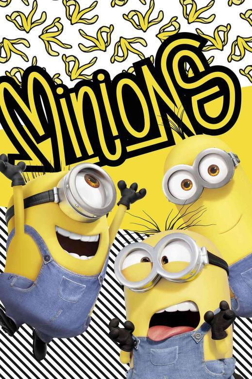 """Dětská fleecová deka Mimoni 2 """"Banana!"""""""