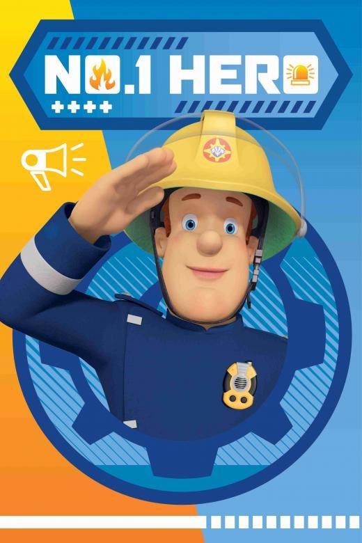 Dětská fleecová deka - Požárník Sam HERO 028
