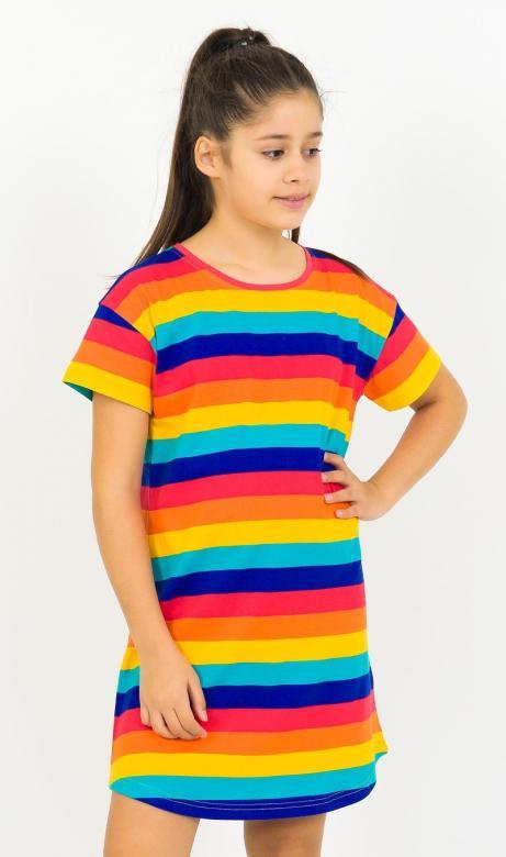Dívčí noční košile Vienetta Secret Proužky
