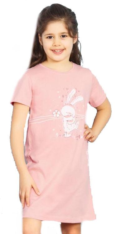 Dětská noční košile s krátkým rukávem Vienetta Secret Zajíc
