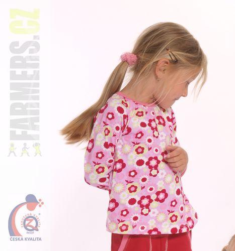 Dětské bavlněné triko Farmers Flowers