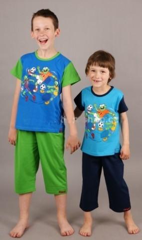 Dětské kapri pyžamo Vienetta Secret - Sportovci