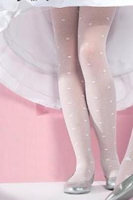 Dětské punčocháče Gabriella 759 Liza bílé
