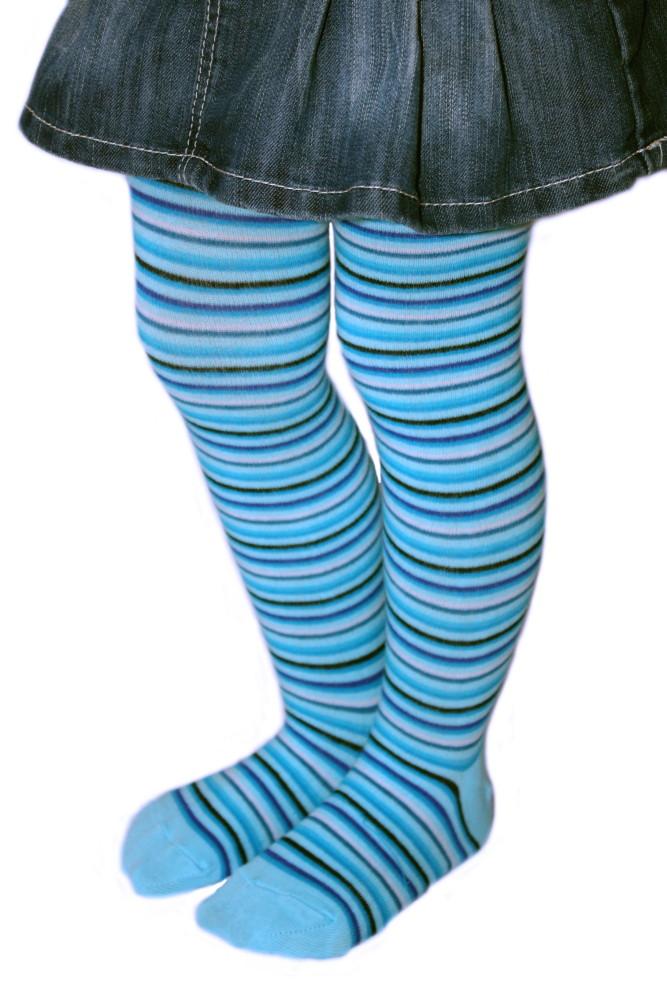 Dětské punčocháčky Design Socks - úzký proužek