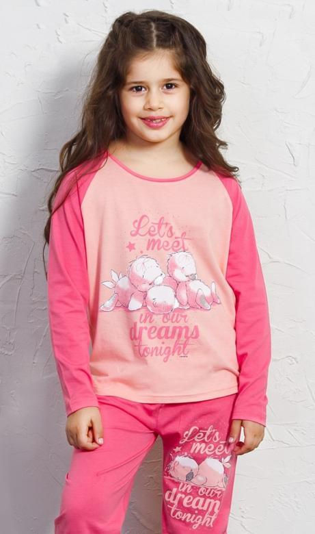 Dětské pyžamo dlouhé Vienetta Secret Ptáčata
