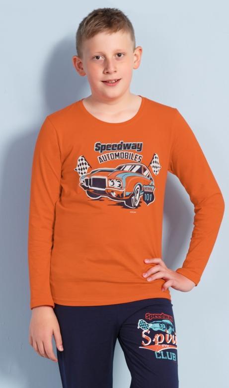 Dětské pyžamo dlouhé Vienetta Secret Speedway