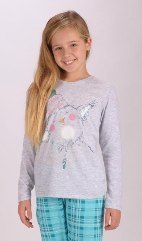 Dětské pyžamo dlouhé Vienetta Secert Vendy