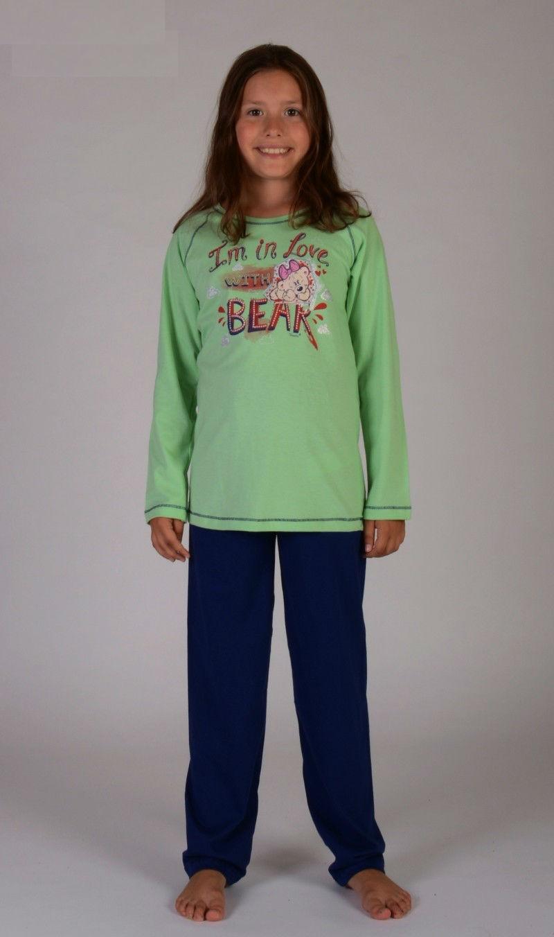 Dětské pyžamo dlouhé Vienetta Secret Bear