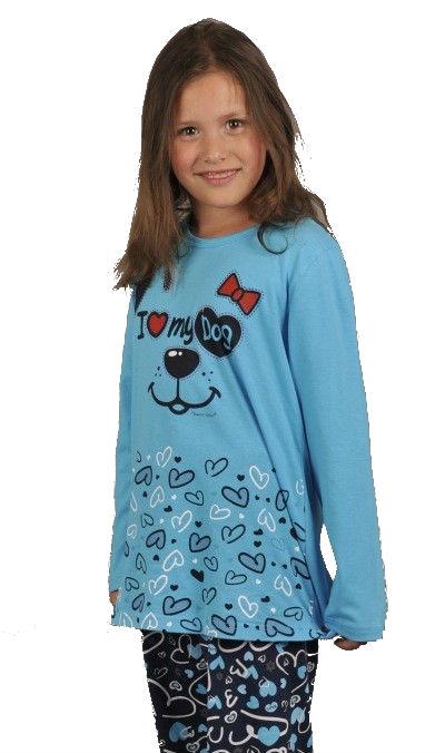 Dětské pyžamo dlouhé Vienetta Secret Dog