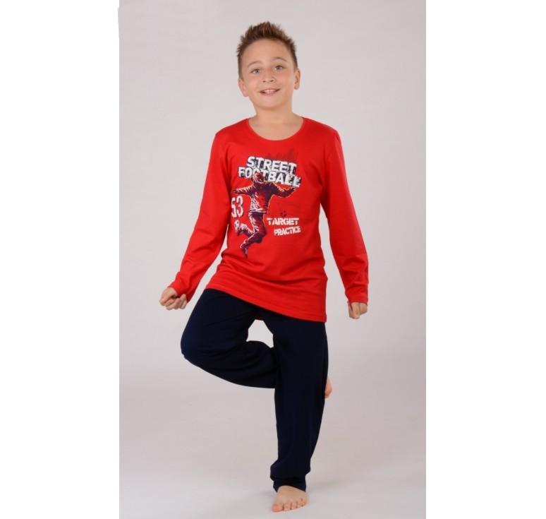 Dětské pyžamo dlouhé Vienetta Secret Fotbal