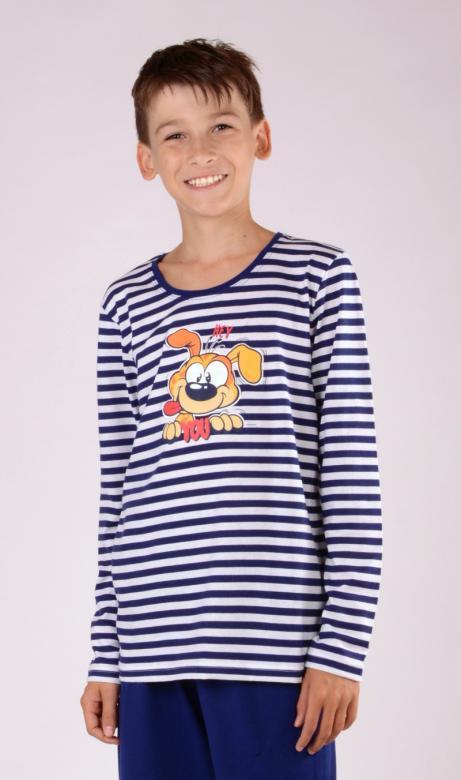 Dětské pyžamo dlouhé Vienetta Secret Pes