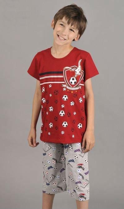 Dětské pyžamo kapri Vienetta Secret Fotbal