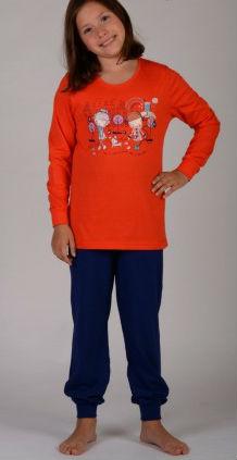 Dětské pyžamo Vienetta Secret Dívky ve městě
