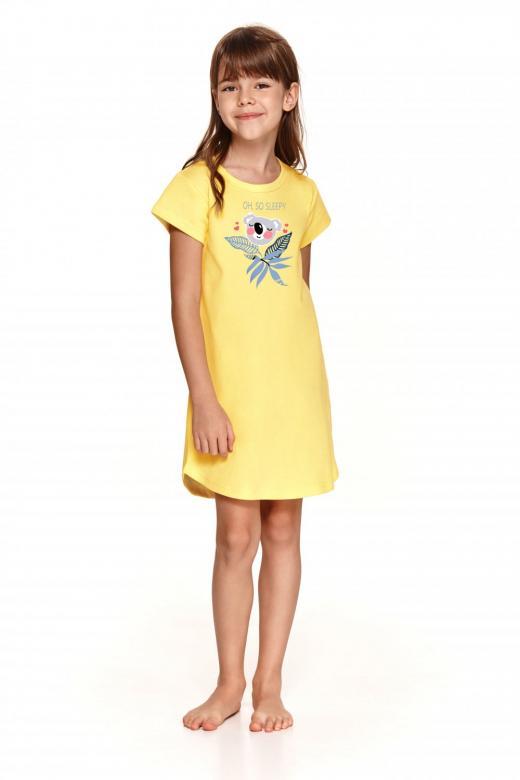 Dívčí noční košile Taro 2093 Matylda žlutá