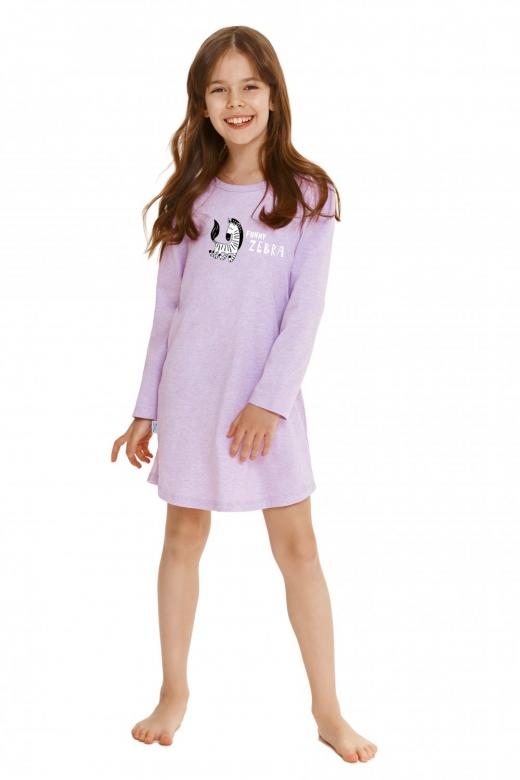 Dívčí noční košile Taro 2617 Sarah fialová